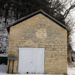 Ice House/Smoke House, Motor Mill County Park, Galaxy Rd., Read Township