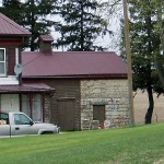 Residence with addition, Wagner Township
