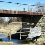 Bridge Abutments, Coral Ave., between 145th St. and 130th St., near 13382 Coral Ave., Grand Meadow Township