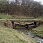 Bridge abutment, 270th Street off Highway 13, Boardman Township