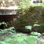 Bridge Abutment, Bixby State Park at the South Entrance off Fortune Ave, Lodomillo Township