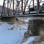 Bridge Abutment, Horseshoe Rd., 1/8 mile East of Ideal Rd., Elk Township