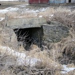Culvert, Iris Rd., east side of road,1/10 mi. north of 24158 Iris Rd., Garnavillo Township