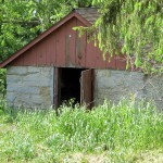 Outbuilding - behind House on Hwy 128, Clayton Center, Read Township