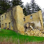 Residence in Ruins, 11062 Apricot Rd., Grand Meadow Township