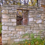 Buildings in Ruins-Bathrooms, Bixby State Park (South Entrance), Off Fortune Avenue, Lodomillo Township