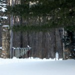 Pillars, Entrance to Klaus Boy Scout Camp, 28157 Horseshoe Rd., Elk Township, Map # .