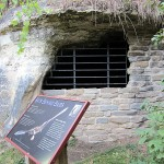 Cave-Cooling Cellar Entry, DNR Headquarters, 410 Business 18 (Great River Rd.), McGregor, IA., Mendon Township