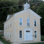Schoolhouse, 1860 NRHP, lst. Street, Clayton, IA, Clayton Township