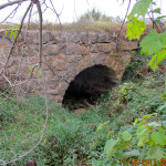 Stone Arch Bridge, Farmersburg, Township;Located on private property, not visible from public right of way.