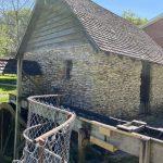 Mill bldg. Spook Cave, outside Monona, Iowa